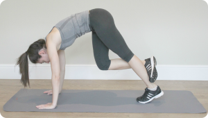 Calf Stretch crop