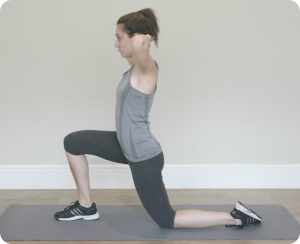 Hip Flexor Stretch cro